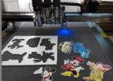 Cortadora de hoja de PVC de alta densidad Máquina de CNC de corte de oscilación de placa de espuma de impresión digital