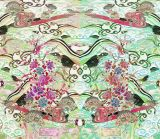Tela 100% do poliéster da tela da impressão de matéria têxtil de Digitas (PF-042)