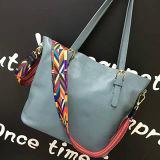 Bolsa de compra simples das mulheres dos sacos de ombro das senhoras da forma no estoque Emg4592