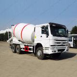 HOWO 6X4の具体的なトラックのミキサーまたは具体的なミキサーのトラックかトラックによって取付けられるミキサー