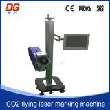 Высокоскоростное СО2 летая машина маркировки лазера CNC