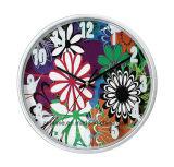 Horloge de mur personnalisée colorée de vente chaude avec le prix grand