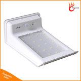 Il LED che illumina le lampade solari impermeabilizza 20 il sensore di movimento esterno della lampada PIR dell'indicatore luminoso di obbligazione di energia solare del LED