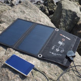 Carregador de bateria universal do painel solar de 15W para iPhone Galaxy iPad