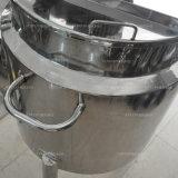 Calefacción eléctrica depósito mezclador de acero inoxidable para químicos