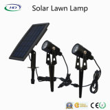 Indicatore luminoso solare del giardino della lampada del prato inglese del LED per illuminazione esterna della sosta