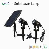Lampada solare del prato inglese del LED per illuminazione esterna della sosta & del giardino