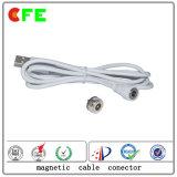 Водоустойчивые магнитные кабельные соединители 1pin для медицинского Mattess