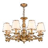 Illuminazione di cristallo del lampadario a bracci di Elegent del metallo (SL2286-8)
