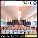 Barraca do evento do casamento da decoração do telhado feita da tampa de PVC de alumínio do frame