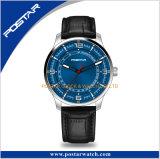 Moda Hombre Negro reloj de pulsera de cuarzo de lujo en el deporte de Marcación de acero inoxidable