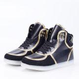 最新の高品質の方法大人の偶然の高い上LEDの軽い靴の2016年