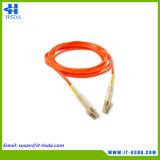 Qk734A erstes Flex LC/LC MehrmodenOm4 2 Kabel der Faser-5m