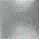 Mezcla de cristal del azul del iridio del mosaico