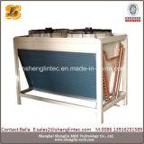Cambista de calor de refrigeração da aleta da câmara de ar de cobre ar de alumínio