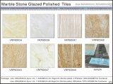 Azulejos de suelo esmaltados Polished de mármol de la porcelana (VRP6D004 600X600m m)