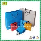 Personalizar bolsos de papel de color para regalo