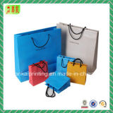 Personalize Bolsas de papel colorido para presente