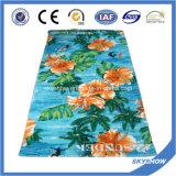 Katoenen van 100% Hoogtepunt - Handdoek van het Strand van de grootte de Reactieve Afgedrukte