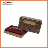 Red MDF Gift Box Papel de impressão Perfume Gift Box