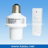 B22 inalámbrica 433.92 MHz Titular de la lámpara de control remoto RF (KA-RLH06-2)