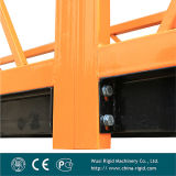 Revêtement en poudre Zlp630 de l'acier plate-forme de travail de nettoyage de façade suspendu