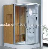 소형 샤워 (AT-D8851B-1)를 가진 1600mm 분야 증기에 의하여 결합되는 Sauna