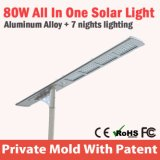 지적인 알루미늄 주거 도로 빛 LED 가로등 램프 광전지