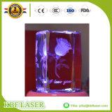 3D-Crystal Reports/стекла/Photo станок для лазерной гравировки