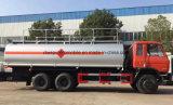 20 caminhão de petroleiro rude quente do petróleo da venda 20000L do Bower do combustível de T Dongfeng 6*4