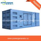 825kVA de reserve Eerste Generator van de Container van de Macht 600kw