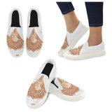 Niedrige Schnitt-Segeltuch-Turnschuhe konzipieren Ihre eigenen Schuhe mit Sublimation-Druck