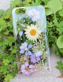 Caixa de telefone à prova de cristal real e artesanal real de cristal