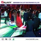 Pantalla de visualización interactiva de alquiler de interior de P6.25/P8.928 LED Dance Floor con sensitivo al contacto para la boda, acontecimientos, club de noche, barra