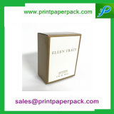 Het Document die van de verpakking Vakje met Voering voor de Room van de Schoonheidsmiddelen van de Essentiële Olie van het Parfum van de Lippenstift van de Gift vouwen