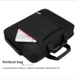15.6 Zoll-Laptop-Schulter-Beutel-Notizbuch-Kurier-Aktenkoffer-Handtasche für DELL Asus