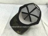 Promoção de malha de poliéster/algodão Caminhoneiro Hat com 3D bordados