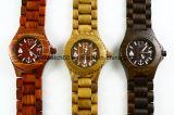 Популярные wristwatches стороны японии Movt деревянные для Mens женщин