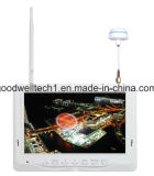 monitor 7inch HD Fpv Geen Blauwe Geïntegreerded Batterij van de Diversiteit van het Scherm 5.8g LCD
