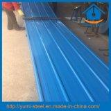 Feuilles en acier enduites de revêtements en métal de toit/mur de couleur bon marché des prix
