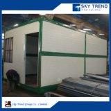 Вмещаемость домашней работы контейнера для перевозок дома контейнера доработанная конструкцией