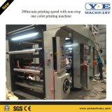 Una impresora de alta velocidad plástica del rotograbado de la película BOPP 200m/Min del color
