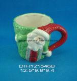 [هند-بينتد] خزفيّ خمر فنجان لأنّ عيد ميلاد المسيح زخرفة
