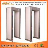 金属探知器の機密保護のドアを通る33のゾーンの歩行