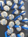Клапан-бабочка сваренная Ss316L нержавеющая и резьба Multi-Положения санитарная
