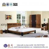 カスタマイズされた木のベッドの4星のホテルの寝室の家具(SH-004#)