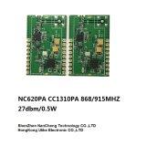 Cc1310 + Cc1190 868m/915mの無線電信のトランシーバのモジュールRFのモジュール
