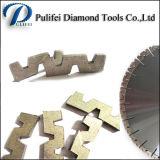 Этап диаманта режущих инструментов формы w истирательный для сляба гранита