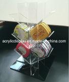 Einzelhandelsgeschäft-Acrylimbiss-Bildschirmanzeige-Zahnstangen