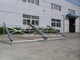 Tipo económico colector solar del acero inoxidable del tubo de vacío